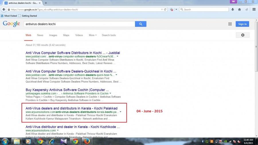 SEO Search Engine Optimization works - Palakkad Kochi Thrissur ...