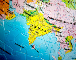 World 3D Puzzle: India