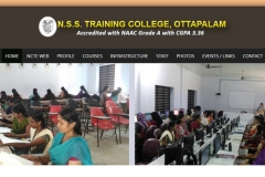 N.S.S Training College, Ottapalam